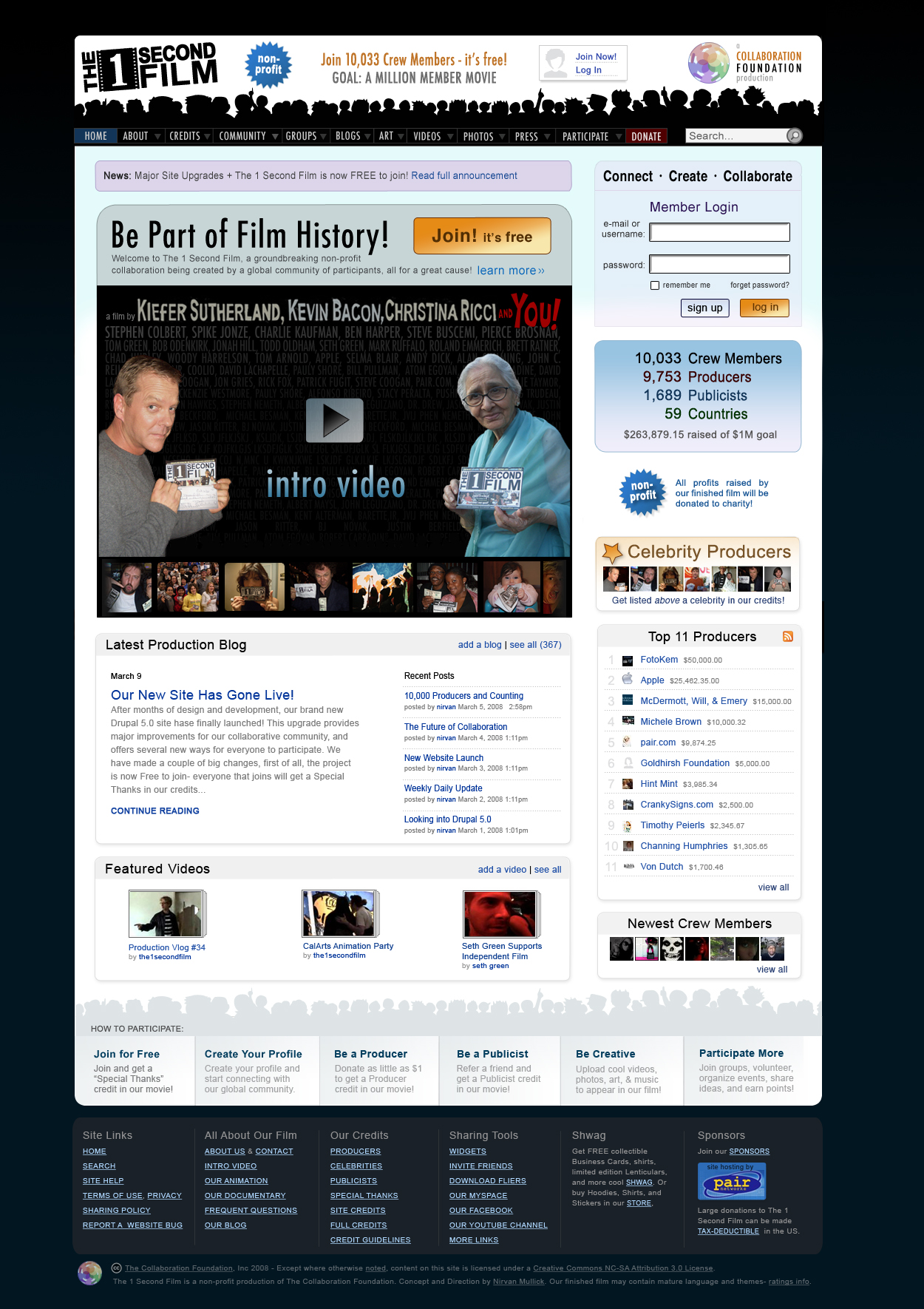 new home page design